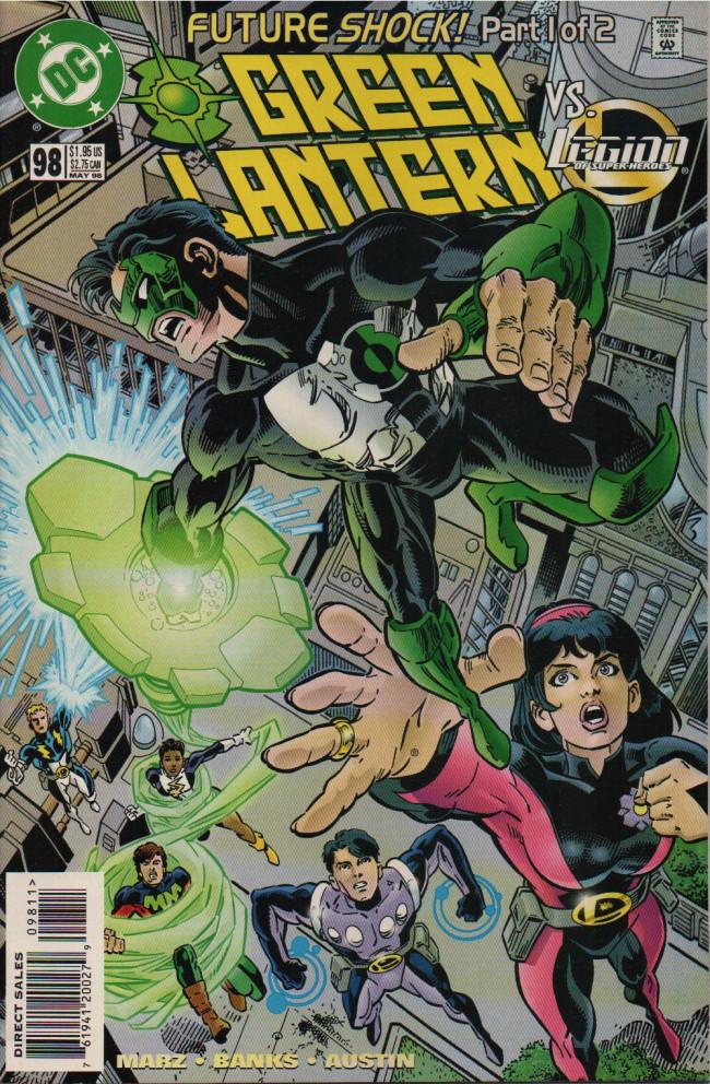 Couverture de Green lantern (1990) -98- Future Shock, Part 1
