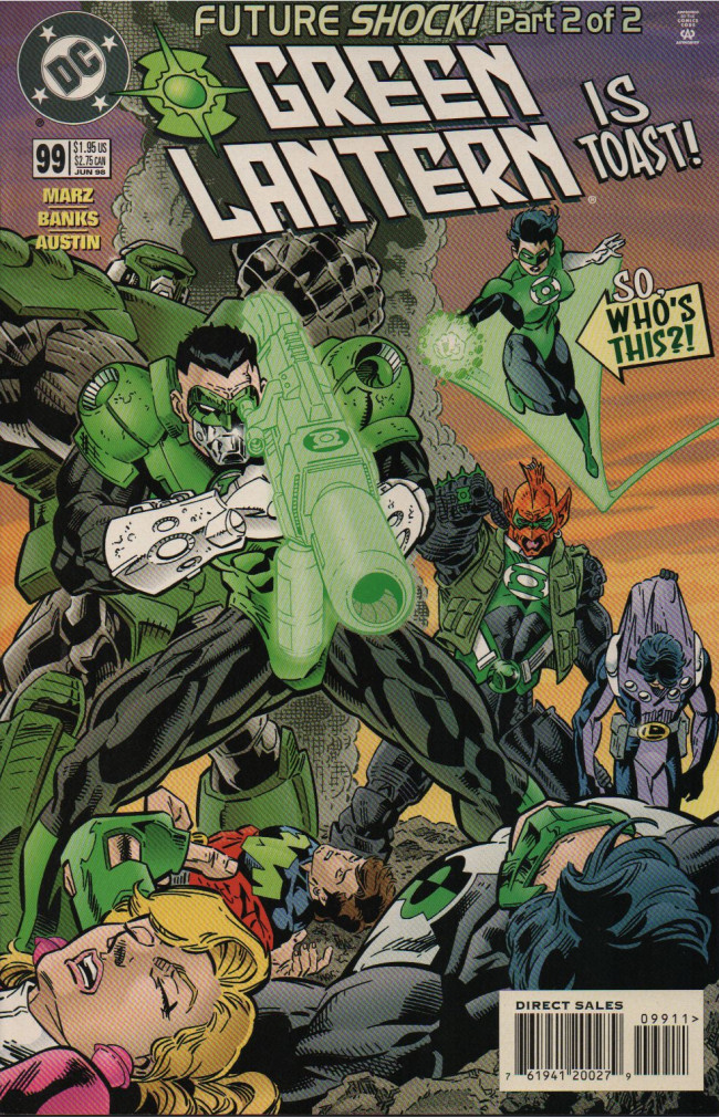 Couverture de Green lantern (1990) -99- Future Shock, Part 2