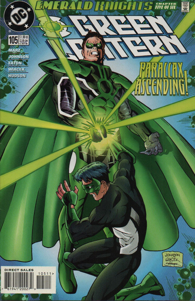 Couverture de Green lantern (1990) -105- Haunted By The Past