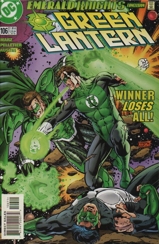 Couverture de Green lantern (1990) -106- time's Up