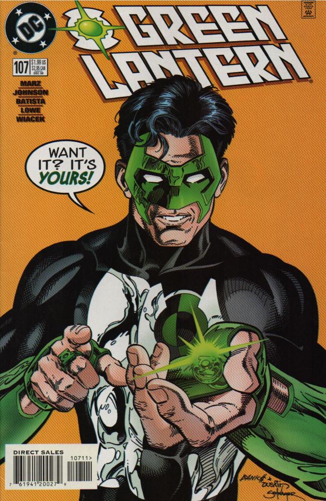 Couverture de Green lantern (1990) -107- The Choice