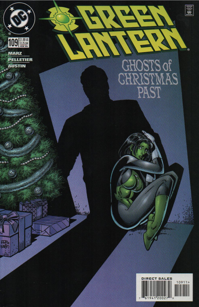 Couverture de Green lantern (1990) -109- Ghost Of Chrismas Past