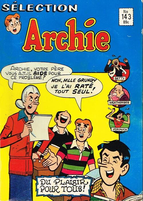 Couverture de Archie Sélection -143- Un jour dans la vie...