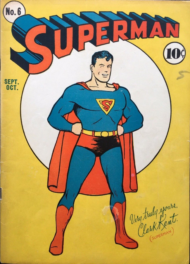 Couverture de Superman (1939) -6- Issue #6