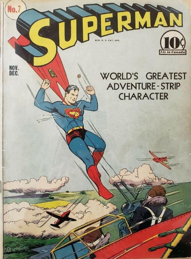 Couverture de Superman (1939) -7- Issue #7