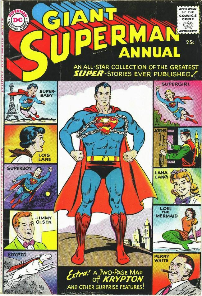 Couverture de Superman (1939) -AN01- summer 1960