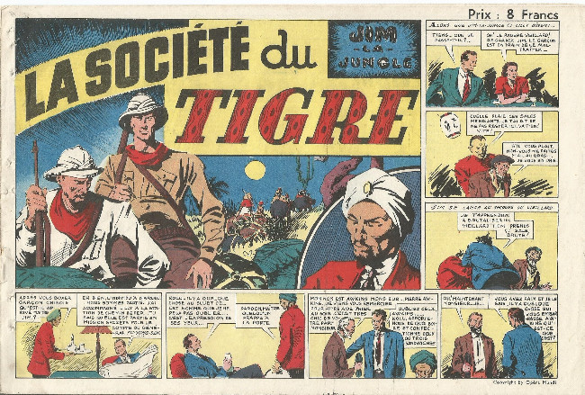 Couverture de Jim La Jungle (S.A.G.E.) - La Société du Tigre