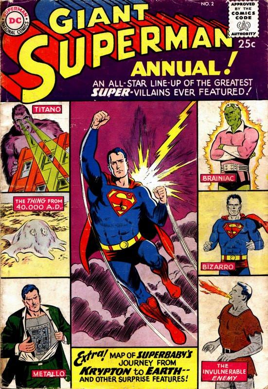 Couverture de Superman (1939) -AN02- winter 1960