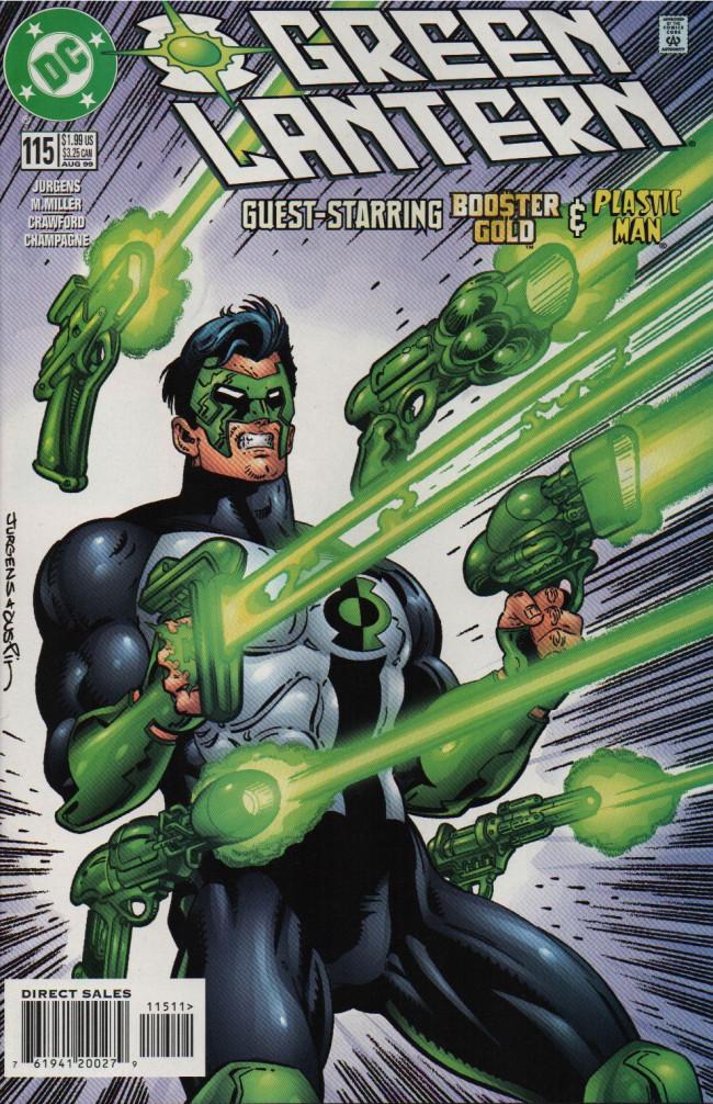 Couverture de Green lantern (1990) -115- The Package