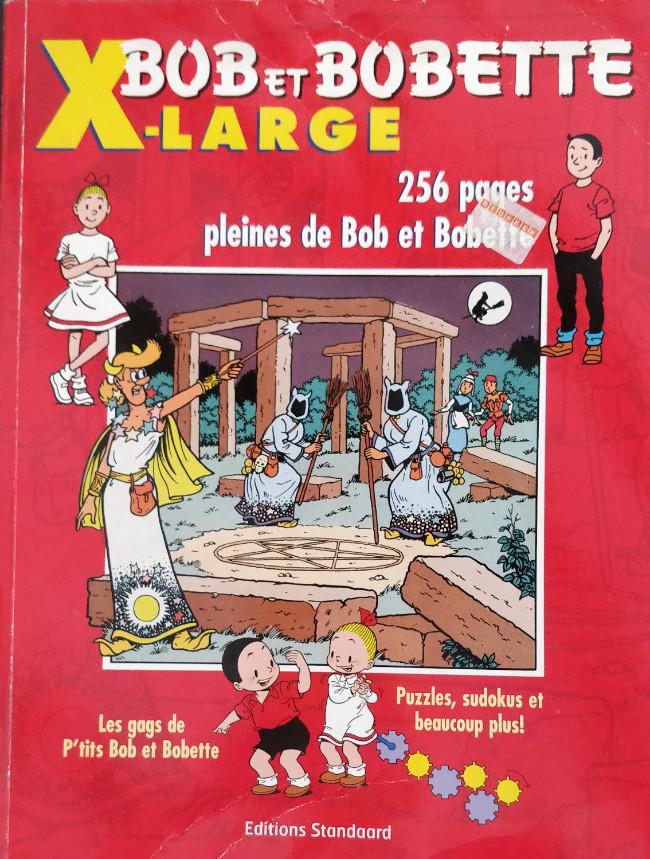 Couverture de Bob et Bobette (X-LARGE) - X-Large 2007