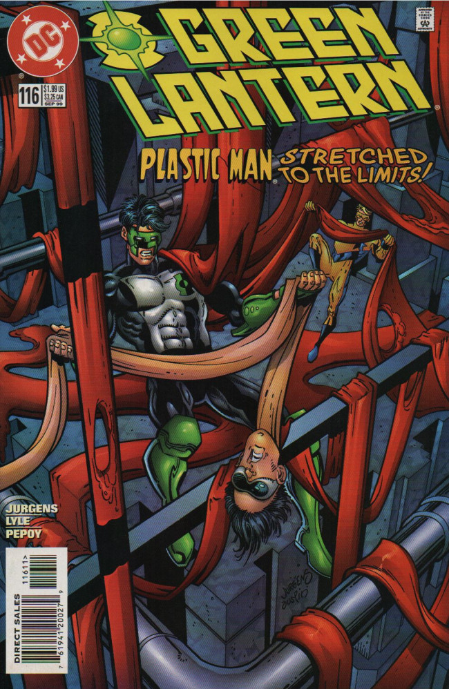 Couverture de Green lantern (1990) -116- Machinations, Misconceptions and Revelations!