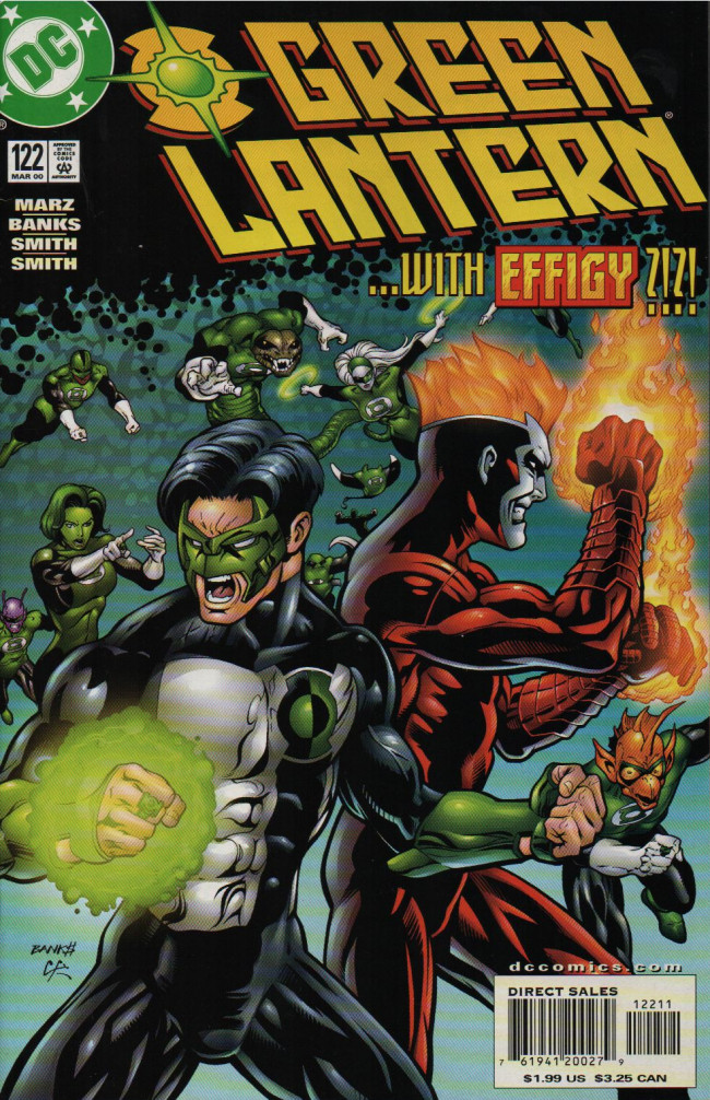 Couverture de Green lantern (1990) -122- Stand In The Fire