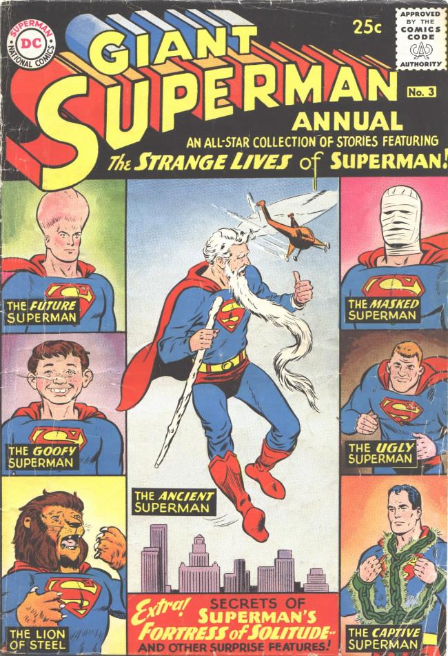 Couverture de Superman (1939) -AN03- The Strange Lives of Superman!