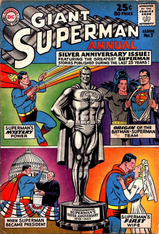 Couverture de Superman (1939) -AN07- Silver Anniversary Issue!