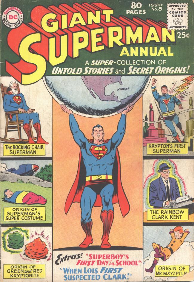 Couverture de Superman (1939) -AN08- Untold Stories and Secret Origins!