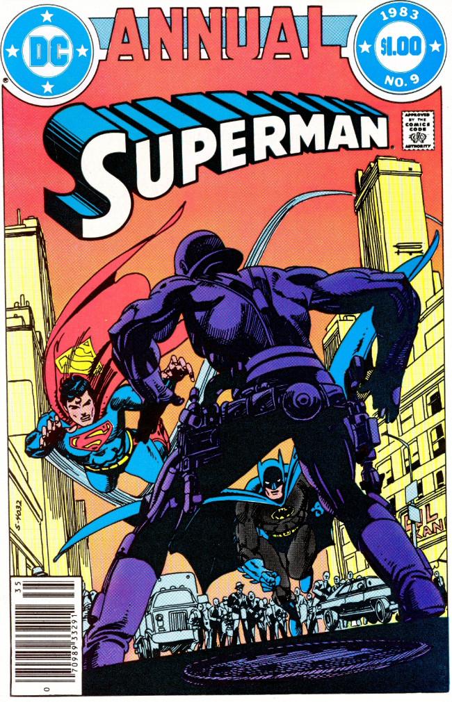 Couverture de Superman (1939) -AN09- Annual 9