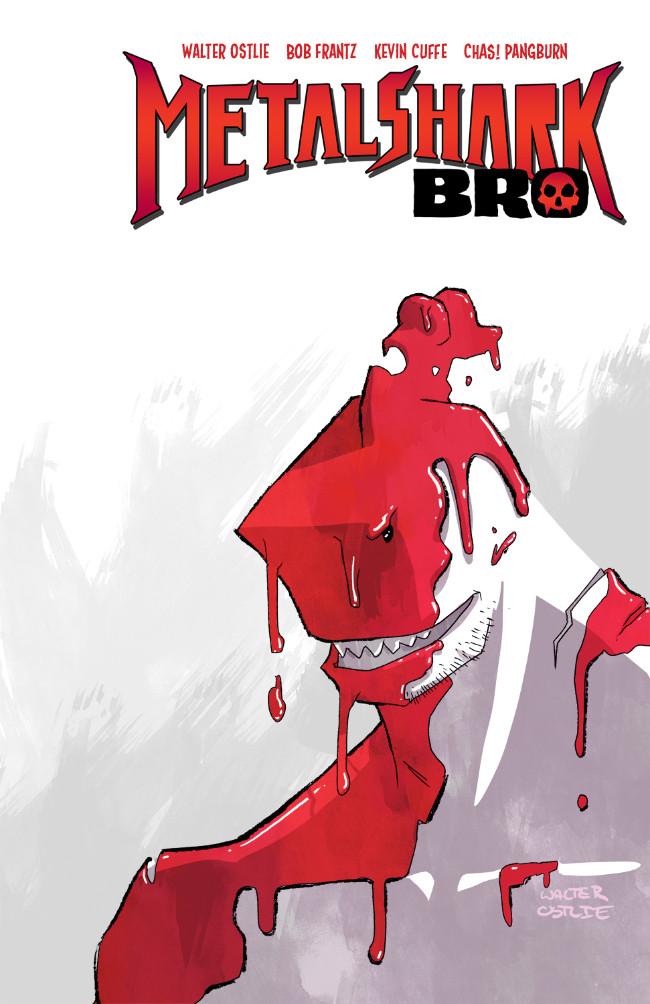 Couverture de Metalshark Bro -1- Volume 1