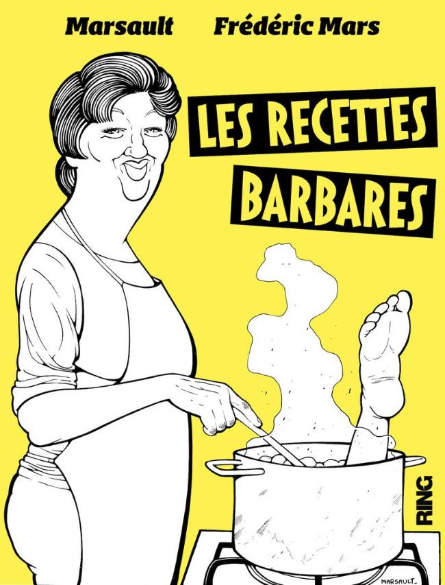Couverture de Les recettes Barbares - Les Recettes Barbares