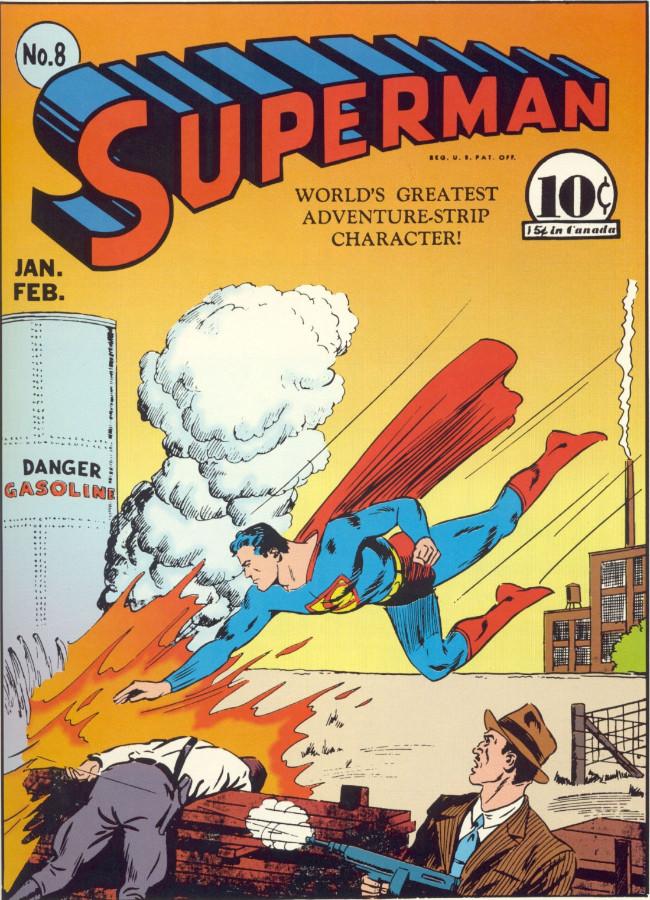Couverture de Superman (1939) -8- Issue #8