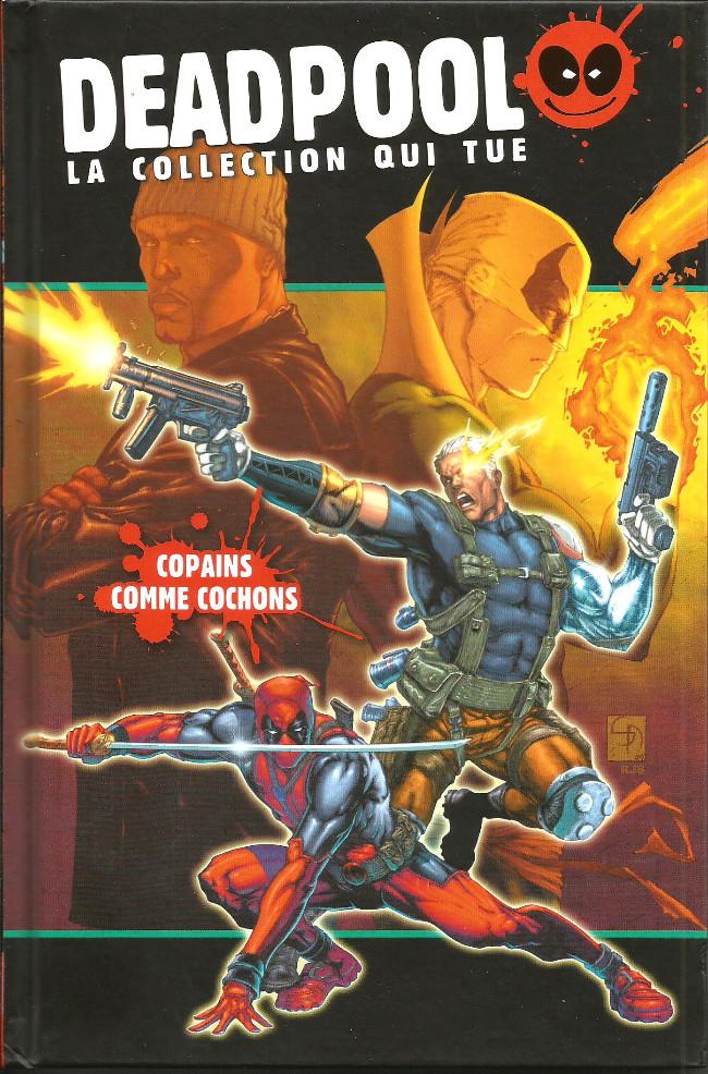 Couverture de Deadpool - La collection qui tue (Hachette) -2422- Copains comme cochon