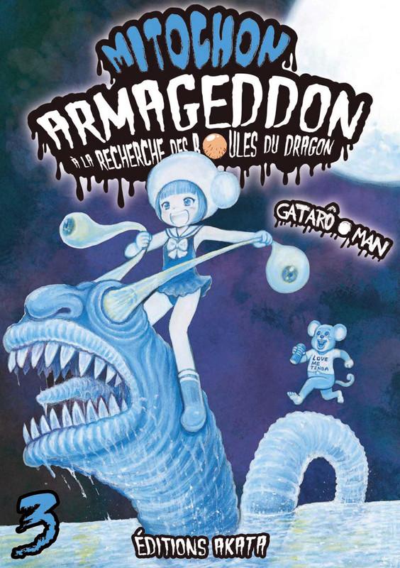 Couverture de Mitochon Armageddon à la recherche des boules du dragon -3- Tome 3