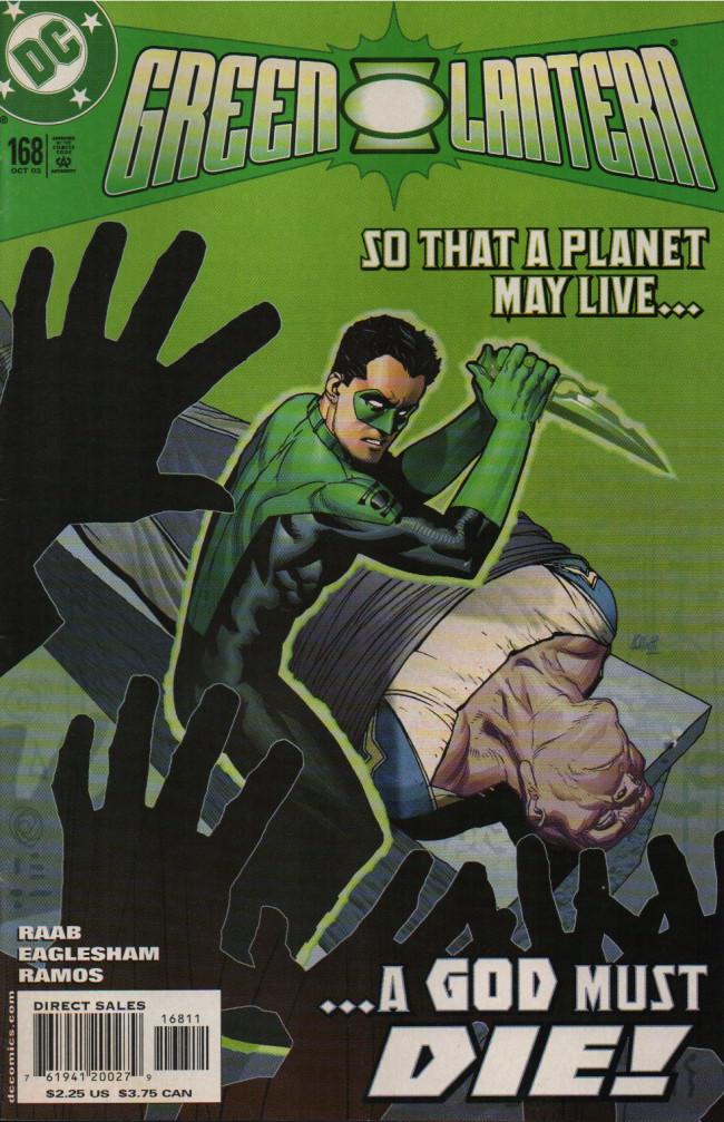 Couverture de Green lantern (1990) -168- Deicide
