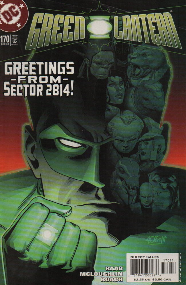 Couverture de Green lantern (1990) -170- Greetings From Sector 2814