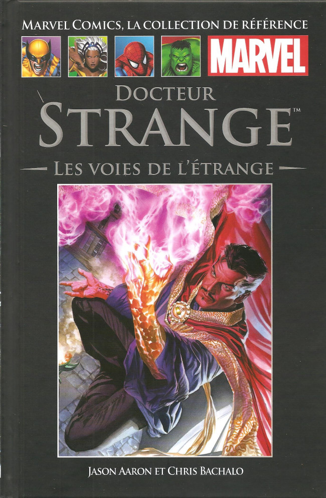 Couverture de Marvel Comics - La collection (Hachette) -153118- Docteur Strange: Les Voies de l'Etrange