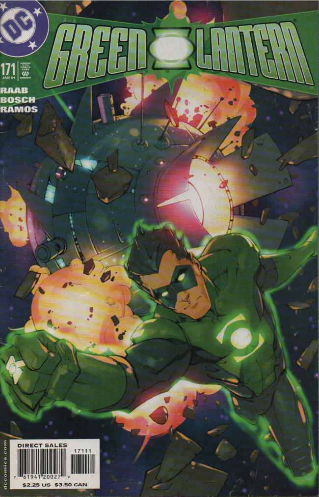 Couverture de Green lantern Vol.3 (DC Comics - 1990) -171- Wanted, Part 1