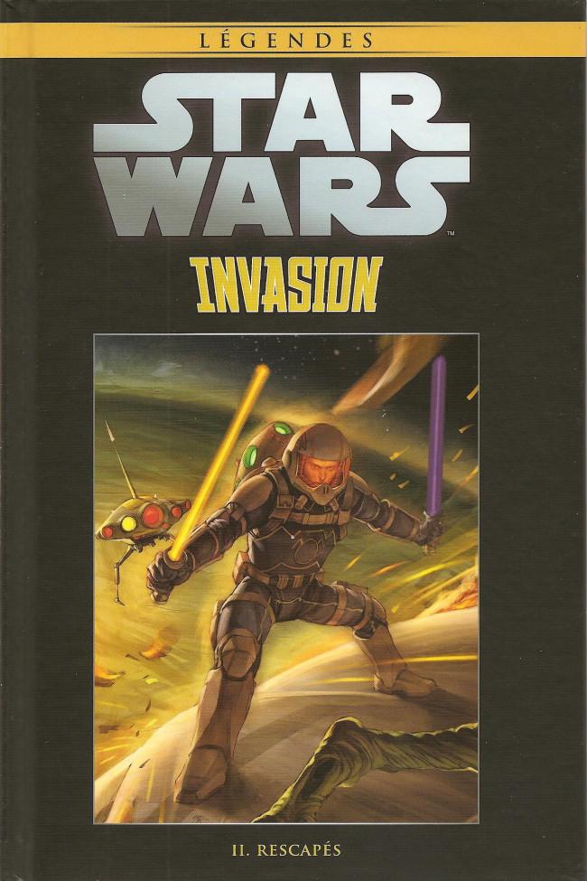 Couverture de Star Wars - Légendes - La Collection (Hachette) -11283- Invasion - II. Rescapés