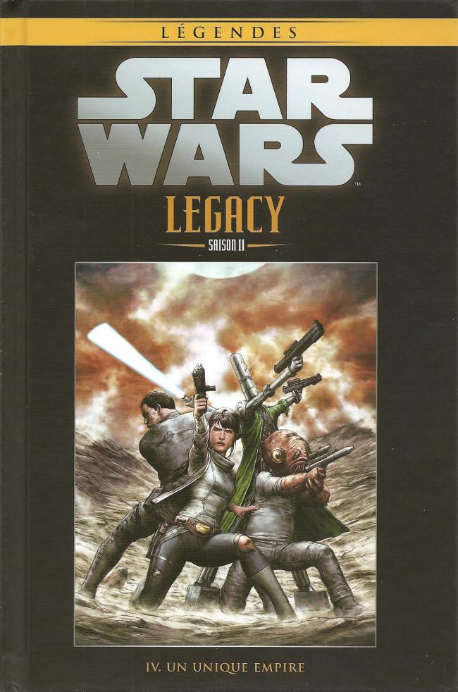 Couverture de Star Wars - Légendes - La Collection (Hachette) -11398- Star Wars Legacy Saison II - IV. Un Unique Empire
