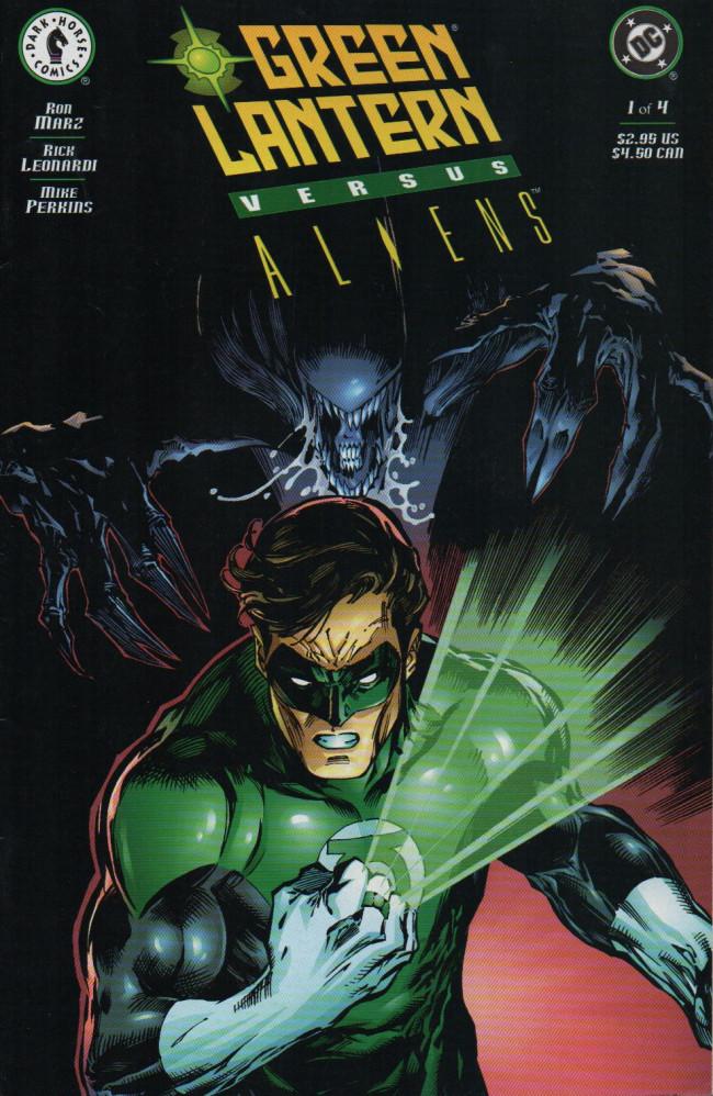 Couverture de Green Lantern versus Aliens -1- Issue #1