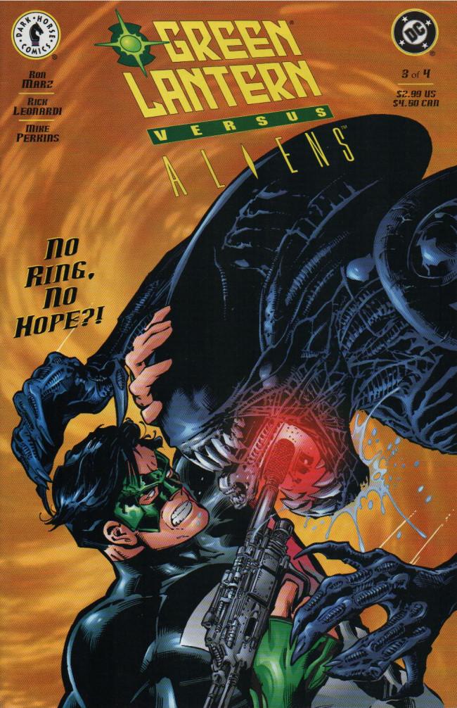 Couverture de Green Lantern versus Aliens -3- Issue #3