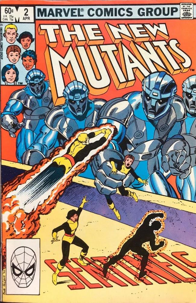 Couverture de New Mutants (The) (1983) -2- Sentinels
