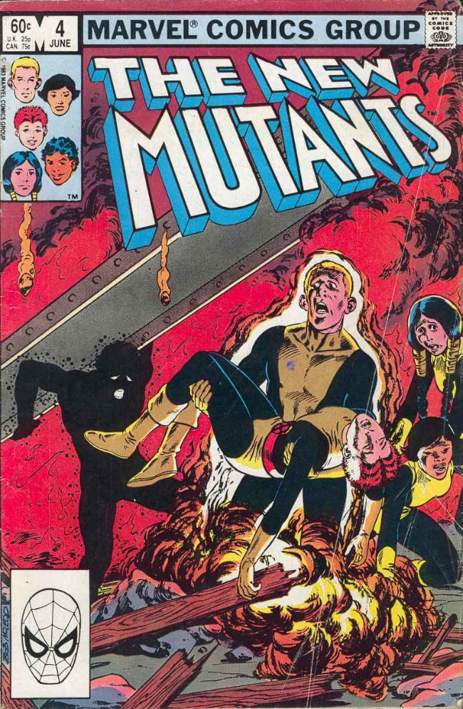 Couverture de New Mutants (The) (1983) -4- Who's Scaring Stevie?