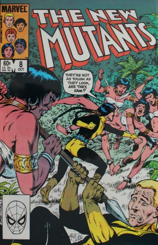 Couverture de New Mutants (The) (1983) -8- The Road to... Rome?