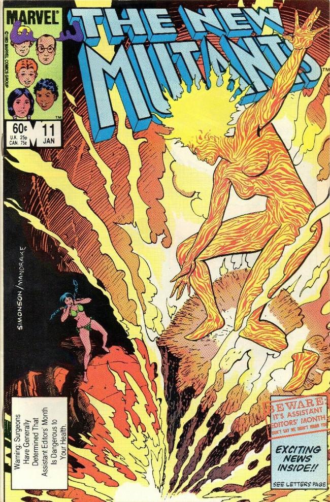 Couverture de New Mutants (The) (1983) -11- Magma