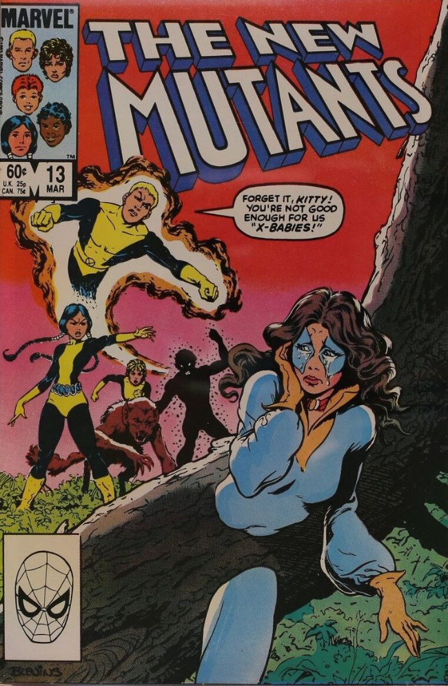 Couverture de New Mutants (The) (1983) -13- School Daysze