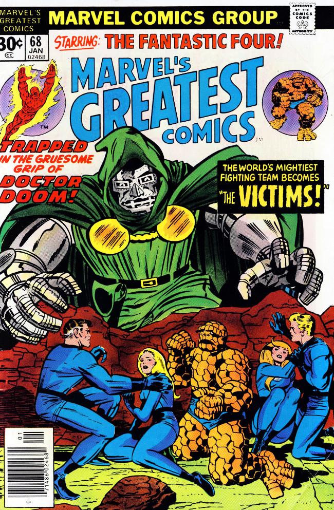 Couverture de Marvel's Greatest Comics (Marvel - 1969) -68- The Victims!