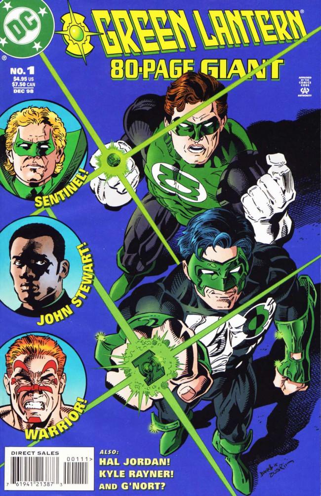 Couverture de Green Lantern 80-Page Giant -1- Warriors' Tales