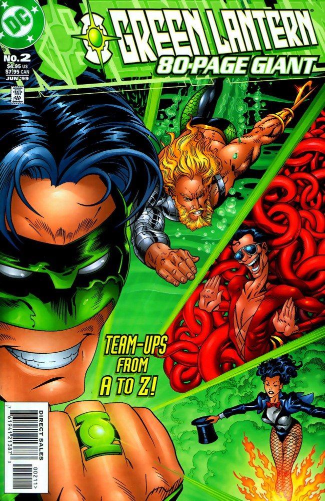 Couverture de Green Lantern 80-Page Giant -2- Phases