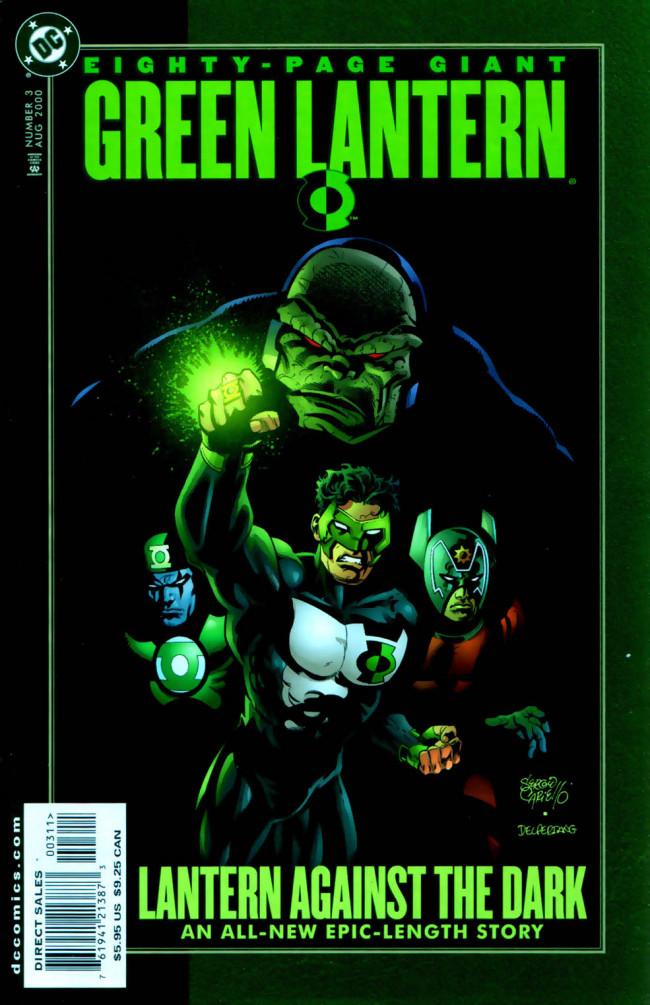 Couverture de Green Lantern 80-Page Giant -3- A Lantern Against The Dark