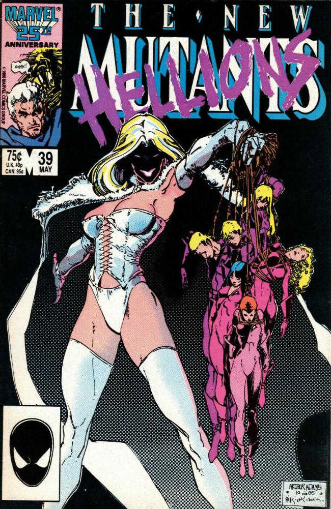 Couverture de New Mutants (The) (1983) -39- The New Hellions