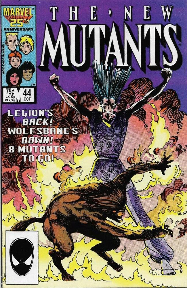 Couverture de New Mutants (The) (1983) -44- Runaway!