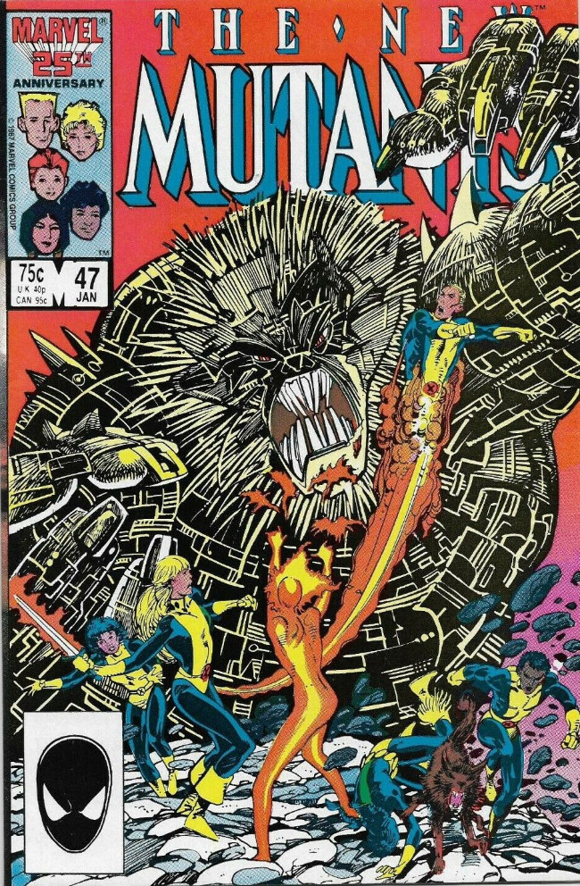 Couverture de New Mutants (The) (1983) -47- My Heart for the Highlands