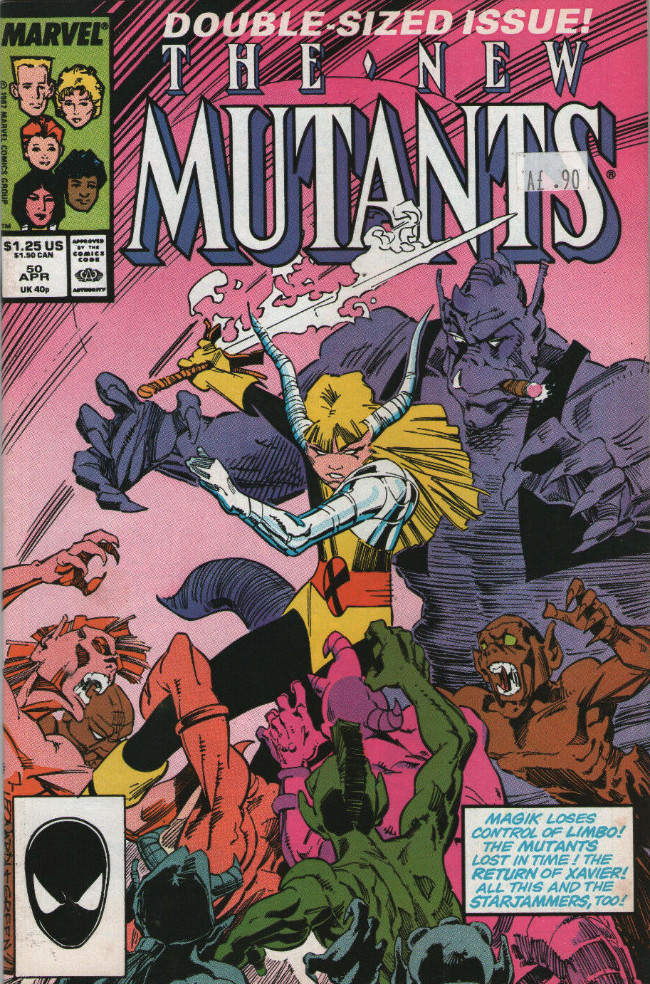 Couverture de New Mutants (The) (1983) -50- Father's Day!