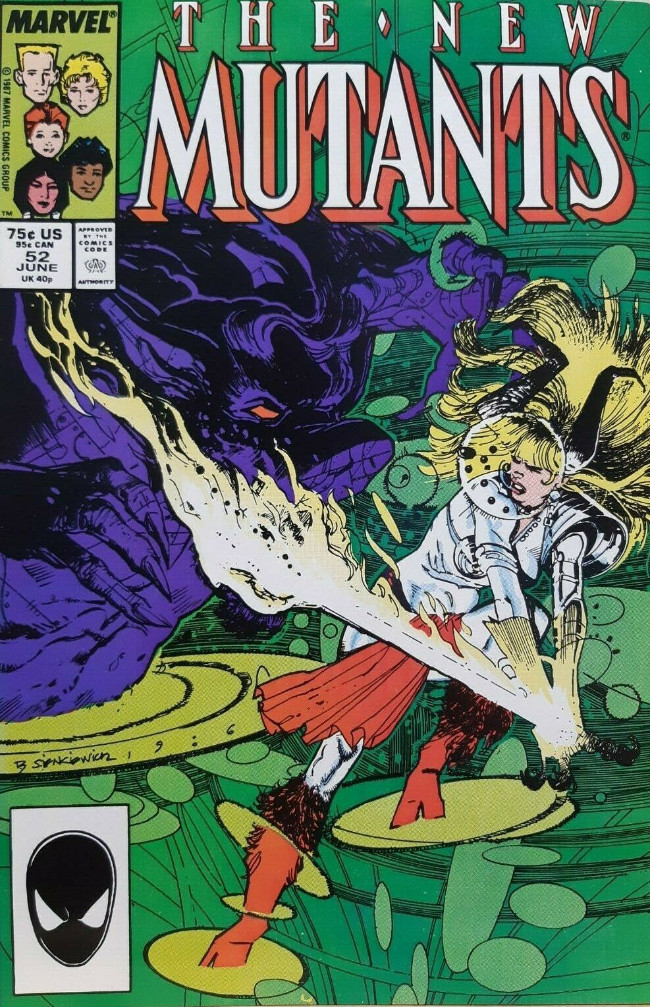 Couverture de New Mutants (The) (1983) -52- Grounded Forever