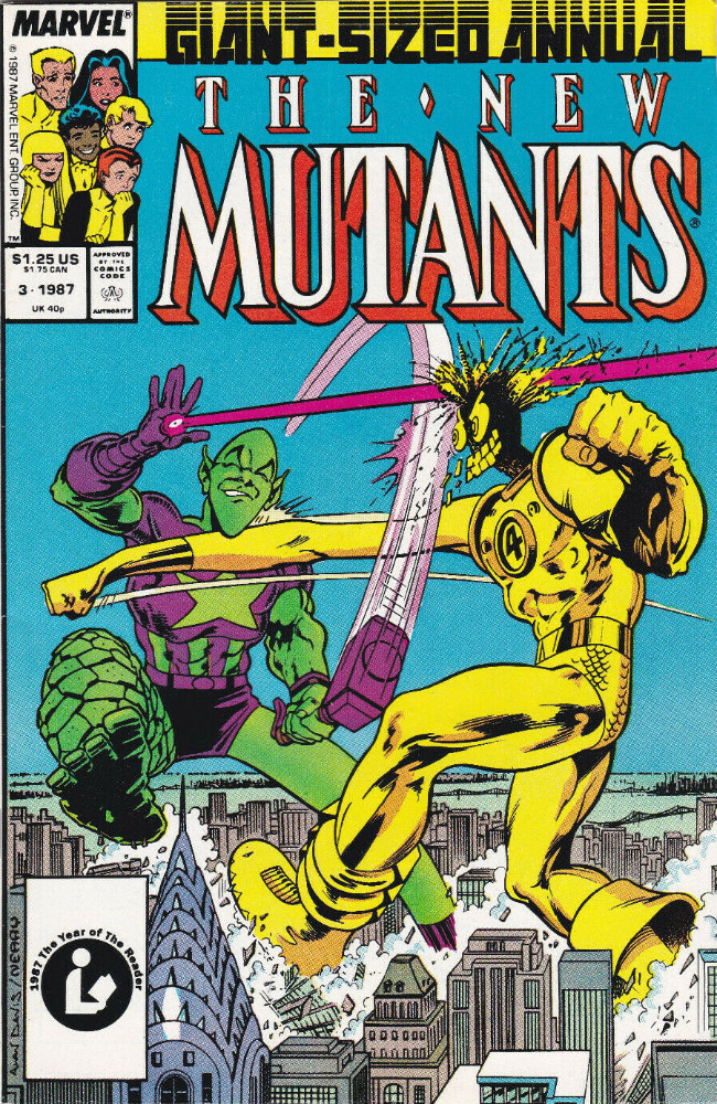 Couverture de New Mutants (The) (1983) -AN03- Anything You Can Do--!