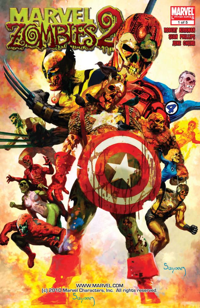 Couverture de Marvel Zombies Vol.2 (Marvel Comics - 2007) -1- Issue # 1