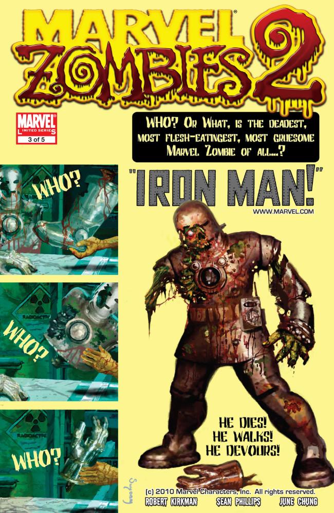 Couverture de Marvel Zombies Vol.2 (Marvel Comics - 2007) -3- Issue # 3